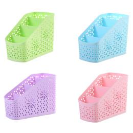 Wholesale Plastic Mini Shoes - NAI YUE Creative Mini 4 Grids Desk Storage Office Organizer Box Case Cosmetic Organizer Holder Storage Box
