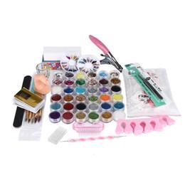 36 Acrylique Brand new Polish Colle Gem Strass Paillettes Clipper Dotting Nail Art Outil de Manucure Drop Shipping grossiste 1j20 ? partir de fabricateur