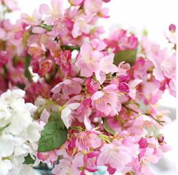 alberi bonsai giapponesi Sconti shiping libero emulational Giardino di fiori di ciliegio giapponese Alberi da sposa Bonsai o Home Desk o decorazione della bottiglia