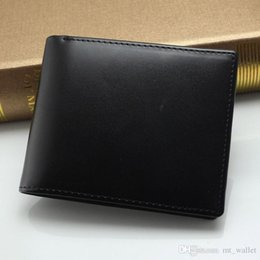 Wholesale High End Packaging - Fashion MB wallet Hot Leather Men Wallet Short wallets MT purse card holder wallet High-end gift box package