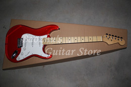 Wholesale Acrylic Guitars - Electric Guitar, Red Crystal Electric Guitar, Acrylic Guitar, High quality