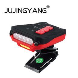Canada JUJINGYANG mini capteur USB rechargeable projecteur multifonctionnel nuit tête de pêche porter de la lumière avec un clip de chapeau Offre
