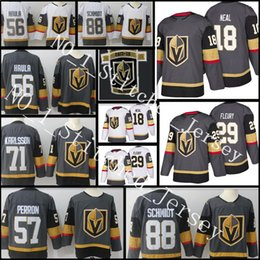 Wholesale Golden Yellow - 29 Marc-Andre Fleury 18 James Neal 56 Erik Haula 71 William Karlsson 88 Nate Schmidt 57 Perron Jersey Vegas Golden Knights Hockey Jerseys