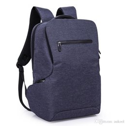 Bolso de negocios de los hombres de la mochila 2018 Moda Bolso de viaje de los estudiantes de la universidad informal de 16 pulgadas Bolso de viaje de la mochila de la computadora de la mochila desde fabricantes