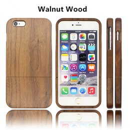 Wholesale Handmade Phone Cases - Handmade Nature Wooden Phone Back Bamboo Shell For iPhone X 8 8P 6 6s 6 Plus 7 7Plus 6s Plus 5 5s SE