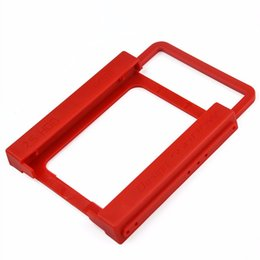 "Wholesale 8gb Ssd - KingDian New Universal 2.5"" to 3.5"" SSD HDD Environmental Plastics Adapter Mounting Bracket Hard Drive Holder for Desktop PC"