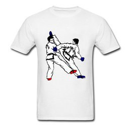 Wholesale Gifts For Gamers - Gamer T Shirt Mens Korea Taekwondo T-Shirt 2018 New Coming Judo Painting Tshirt For Adult Youth Friend Gift Tee Shirts Cotton X