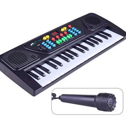 Инструмент для фортепиано онлайн-Дети электрические фортепиано игрушки раннего образования моделирования музыкальные инструменты для детей 37 ключей электронный орган подарок 22 5bj КК
