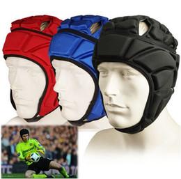 Wholesale Head Equipment - High Quality Petr Cech Premier League & Casque clothing football Goalkeeper head pad protect soccer equipment Protective kits Helmet
