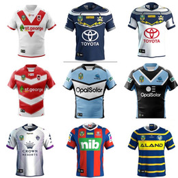 Wholesale Marvel White - The shaQueensland ST GEORGE SYDNEY ROOSTERS NRL JERSEYS Australia NEWCASTLE KNIGHTS Rugby Newcastle Knights 18 19 Marvel Iron Patriot Jersey