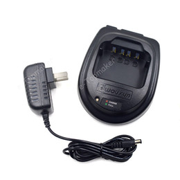 Wholesale two way radio charger - Original Battery Charger AC 100V~240V DC 12V for Wouxun Two Way Radio KG-UVD1P KG-UV2D KG-669 KG-689 Walkie Talkie Transceiver