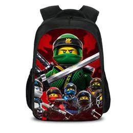04f50665e Lego 3D Dos Desenhos Animados Crianças Sacos Para Meninas Meninos Bookbags  Bonito Ninjago Impressão Mochila Escolar Para Crianças Mochilas  Adolescentes ...