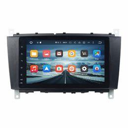 "Wholesale mercedes benz car audio - 2 din 8"" Android 7.1 Android 6.0 Car Audio DVD Player Car DVD for Mercedes Benz C-Class W203 CLC G Class W467 With 4GB RAM Radio GPS USB"
