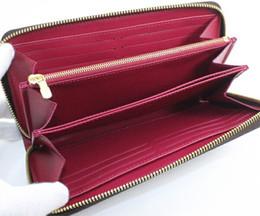 Deutschland Gute Qualität! Großhandel Designer Zippy Brieftasche Frauen Reißverschluss um Brieftasche aus echtem Leder lange Brieftasche Günstige Designer Geldbörse Herren Geldbörse Geschenk supplier cheap genuine gold Versorgung