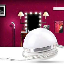 Led Vanity Dressing Table Light Hollywood Style Makeup Mirror Lamp Usb Led Cosmetic Bulb Diy Stepless Dimmable Led Wall Lamp 12v High Quality And Inexpensive Led Lamps