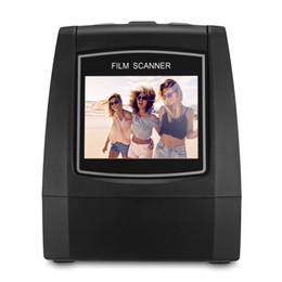 2.4 tft дисплей онлайн-Ec018 Ultra High-resolution отрицательный фильм слайд сканер 2.4 дюймовый 128 МБ TFT ЖК-дисплей сканеры USB 2.0