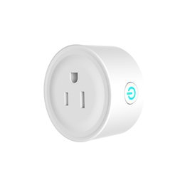 intelligent switch Promo Codes - Mini Smart Wifi Socket Smart Home Plug Intelligent Outlet Timing Switch works with Alexa Google Home Wireless Remote Control Socket