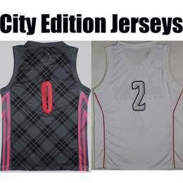 Wholesale Green Rev - NEW CITY EDITION 2018 basketball jerseys camisetas SW REV SWINGMAN GREY THE LAND THE BAY#0 #3 #11 #13 #30 #35 farewell retirement RETRO