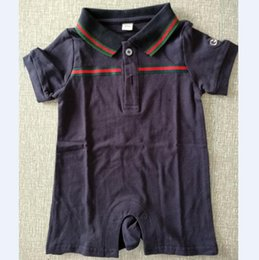 Wholesale boys costume clothes - Summer baby clothes Fashion wild rompers cotton baby costume hot sale baby boy clothes