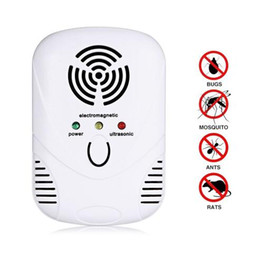 Reattore zanzara del mouse online-Ultrasonic Pest Repelle Electronic Plug In Repellent for Mice Mosquitoes Pest Repeller Rejector Anti Mosquito Repeller killer KKA4357