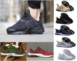 Wholesale Round Weave - 2018 Presto Ultra SE Woven Sand All Black Midnight Navy Wolf Grey Running Shoes Outdoor Casual Walking Sneakers Size 36-45