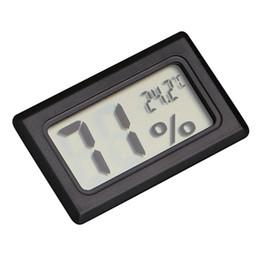 Mini Noir Numérique LCD Température Humidité Intérieur Salle Humidité Mètre Thermomètre Hygromètre Capteur De Température ? partir de fabricateur