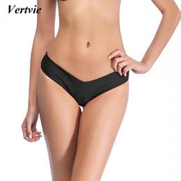 mais maiô Desconto Plus Size 3XL Sólidos Swimwear Bikinis Bottoms Mulheres Multicolor Marca Swimsuit Biquini Femme Tie Side Tanga Sólida Brasil Swimsuit