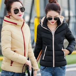 Wholesale Thick Warm Cheap Winter Coat - Cheap wholesale 2017 new Autumn Winter Hot sale women's fashion casual warm down cotton jacket Girls' basic Coat manteau femme