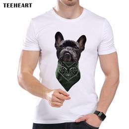 bandana de chien noir Promotion Bandana Gangsta Bad Dog Mignon Noir Boston Terrier Blague Drôle Hommes T Shirt Tee