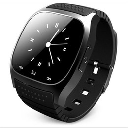 Wholesale Music Window - Bluetooth Wrist Smart Watch M26 Waterproof Smartwatch Call Music Pedometer Fitness Tracker For Android Smart Phone PK A1