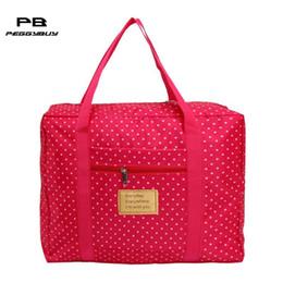 5999545c3ca4 Waterproof Polyester Travel Bags Women Men Large Capacity Folding Duffle Bag  Organizer Packing Cubes Luggage Girl Weekend Bag
