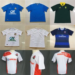 Wholesale usa rugby xl - Cheap Mens 2018 2019 International USA South Africa Japan Italy Home Away NRL National Super Rugby League Printed Pattern S-3XL Jerseys