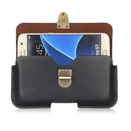 Wholesale Black Pearls Chinese - Universal PU Leather Belt Clip Pouch Cover Case for Energy PHONE MAX 4000 PRO 4G NAVY PRO 4G PEARL