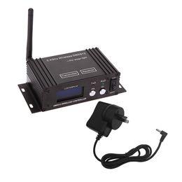 Argentina 2.4G Wireless DMX 512 Controlador Transmisor Receptor Pantalla LCD Alimentación ajustable UE / EE. UU. / Reino Unido / AU Controlador de iluminación supplier ac controllers Suministro
