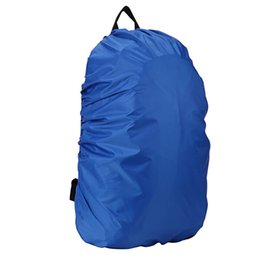 Argentina Bolso impermeable de la cubierta del polvo de la lluvia de la mochila de la mochila a prueba de lluvia para acampar que camina 8BVD supplier backpack poncho Suministro