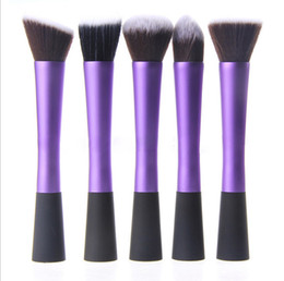 Wholesale Facial Blush - Hot Selling 1 Set Professional Powder Blush Brush Facial Care Cosmetics Foundation Brush Beauty Makeup Brushes Free Shipping