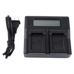 Bateria sony np on-line-Carregador de bateria da exposiço do LCD do canal duplo para bateria da série de Sony NP-FW50 A5100 / A6000 NEX
