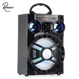 Wholesale 15w speaker - Redmaine 15W MS - 188BT Multi-functional Wireless Bluetooth Speaker Big Drive Unit Bass Colorful Backlight FM Radio Music Player