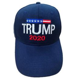 Material de sombras on-line-Mantenha Americano Grande Snapback Trump Com Material De Algodão Hat Donald Trump 2020 Boné de Beisebol Carta Criativa Sol Sombreamento 9 6ds2 jj