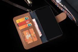 Canada Luxe Fashion Grid Designer Or Portefeuille En Cuir En Cuir Étui À Rabat Pour iPhone X XS Max XR 8 8 plus Fente Pour Carte Cadre Photo Cas Pour iPhone 7 6 6S Plus cheap iphone leather gold Offre