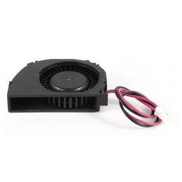 Resfriamento dc ventilador on-line-Para Laptop 2 Terminais CPU Cooler Cooling Ventilador Ventilador DC 12V 0.1A Preto