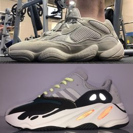 lower price with fde9a 51b0d 2018 New Boost 500 Blush Desert Rat Kanye West 700 yung 1 Wave Runner 350  Zapatillas de correr para hombre zapatos de diseñador M yeezy a Athletic  Sneakers ...