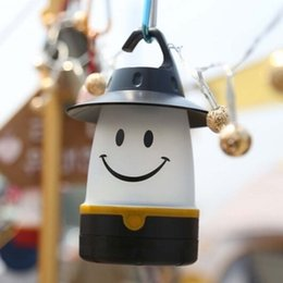 Wholesale Night Smile - Smile lantern, Smiley Face LED Night Light Portable Moving Table Lamp for Indoor portable lanterns