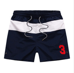 Wholesale Fast Drying Pants - New Mens Shorts Fast Dry Beach Pants Fashion Luxury Brand Sports Patchwork Shorts