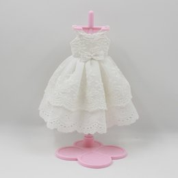 Wholesale Wholesale Factory Dresses - Fortune Days Blyth doll white dress for dress up for the doll the cute dressing Factory Blyth