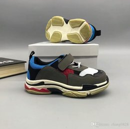 Wholesale Basketball Loop - New Kids Retro running Basketball shoes fashion Sneakers Shoes For Boys Girls Children's Trainers Huaraches Sport Running Shoes Size 26