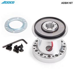kit corolle Promotion ADDCO Aluminium Moyeu De Volant Kit Boss Pour Toyota Chaser KE70 AE71 AE82 AE86 Supra Corolla ADBK16T