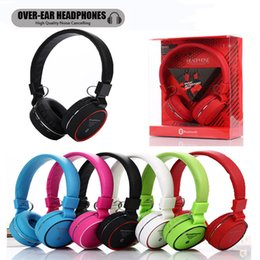 2019 annulation du bruit sur l'oreille Casque Bluetooth Casque d'écoute sport sur oreille avec microphone Bruit filaire et sans fil Suppression des écouteurs Suppression des écouteurs Téléphone mobile Téléphones Casques Compute annulation du bruit sur l'oreille pas cher