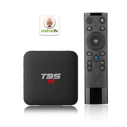 T95 S1 TV BOX Amlogic S905W Quad-core Android 7.1 2.4G WiFI 100M Lan haute qualité internet tv box 2GB 16GB Lecteur multimédia intelligent x96 mini ? partir de fabricateur