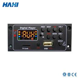 Scheda di alimentazione 12v online-Piccolo modulo audio per scheda audio MP3 Star Decoder per altoparlante per auto Remote Music DC 12V / 5V Micro USB Power Supply